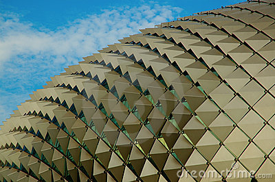 Singapore Picture House on Stock Photo  Durian Opera House In Singapore  Image  4301470