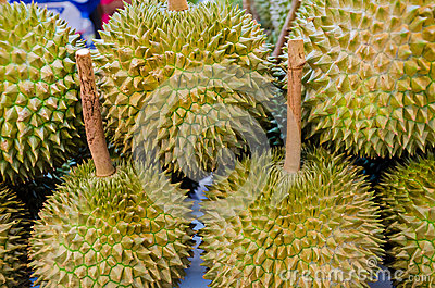 Durian on sales