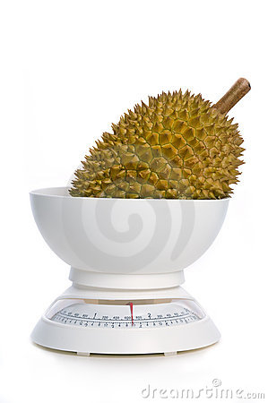Durian on weight