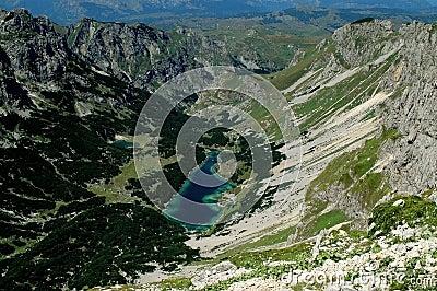 Durmitor mountains, Montenegro, Skrcko lake