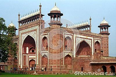 Durwaza at Taj Mahal