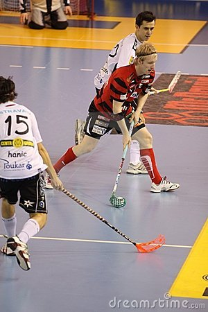 Dusan Privara - floorball Editorial Photography