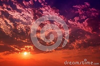 Dusk Cloudscape