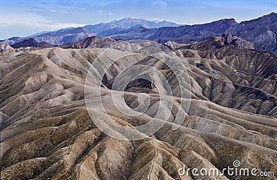 Dusk in Death Valley, California