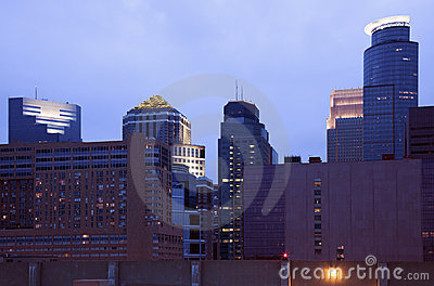 Dusk in Minneapolis