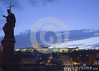 Dusk in Prague