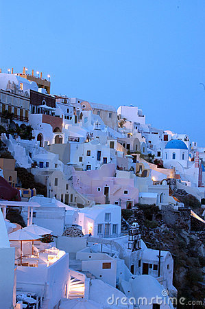 Free Dusk Santorini Stock Images - 1469014