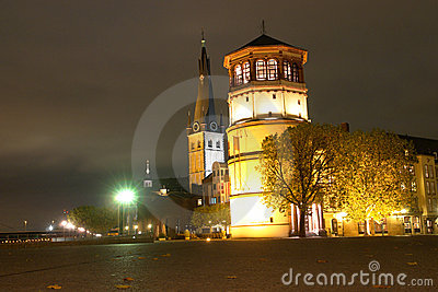 Dusseldorf Germany - Navigation Museum - Night Royalty Free Stock Photo - Image: 7275085