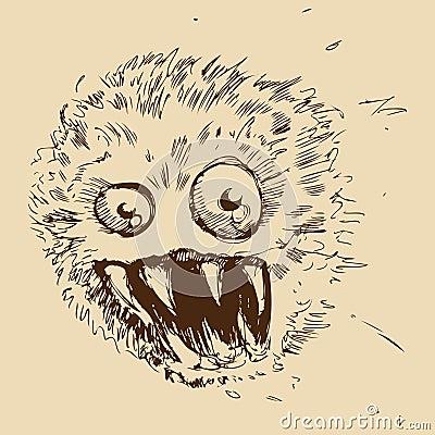 Dust Ball Monster