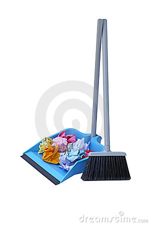 Dust Pan Lobby Broom