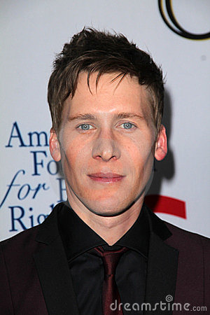 Dustin Lance Black Editorial Photo