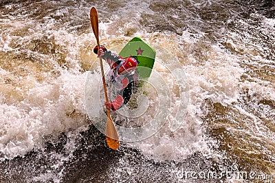 Dustin Urban 2010 Teva Games Mens Freestyle Kayak Editorial Photo