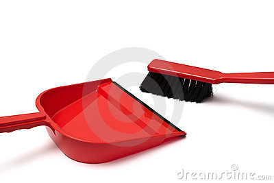 Dustpan and duster