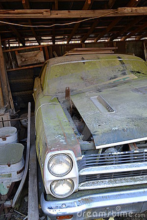 Dusty Car