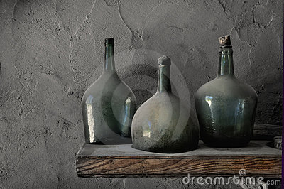 Dusty Cellar Bottles