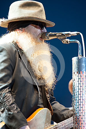 Dusty Hill Editorial Stock Image