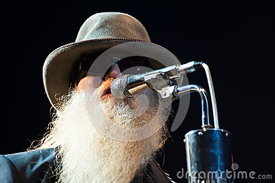 Dusty Hill Editorial Image