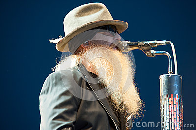 Dusty Hill Editorial Photography