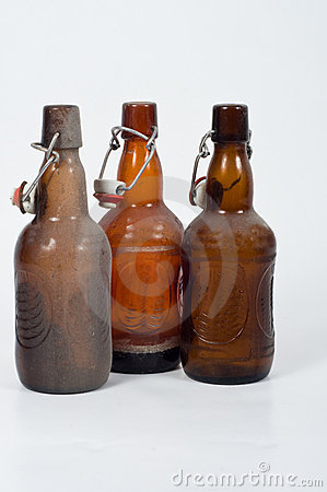 Dusty od bottles