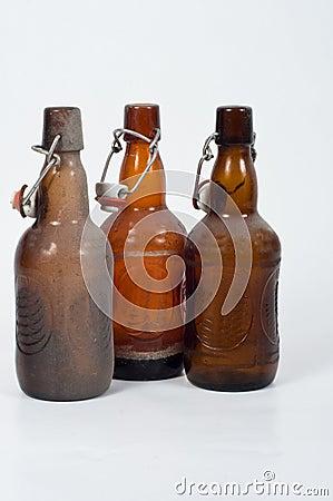Dusty od bottles