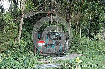 Dutch army military defense bunker