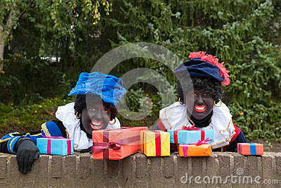 Dutch black Petes hiding