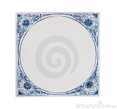 Dutch blue tile