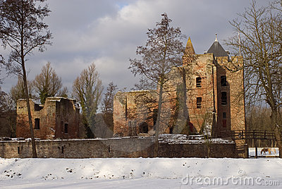 Dutch castle Brederode