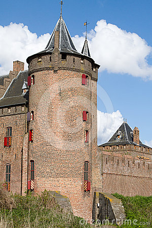 Dutch castle Muiderslot