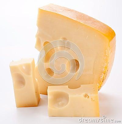 Free Dutch Cheese. Stock Image - 17078691