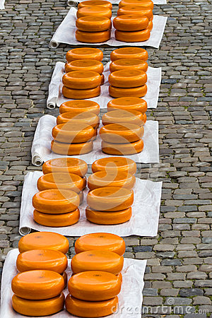 Dutch Cheese in Gouda