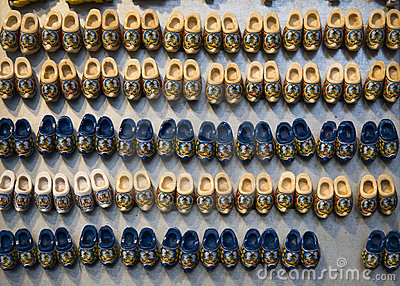 Dutch clogs souvenirs