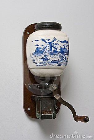 Dutch coffee mill