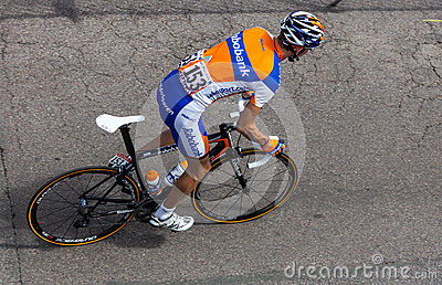 The Dutch cyclist Mollema Bauke Editorial Stock Photo