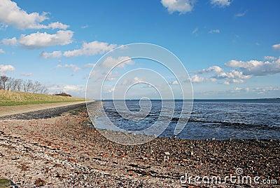 Dutch ebb low tide