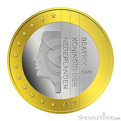 Dutch Euro Coin