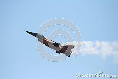 Dutch F16 Editorial Stock Photo