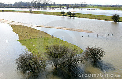 Dutch Flooded fore-lands
