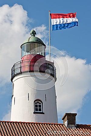 Dutch lighthouse