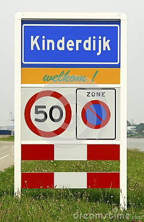 Dutch municipality sign
