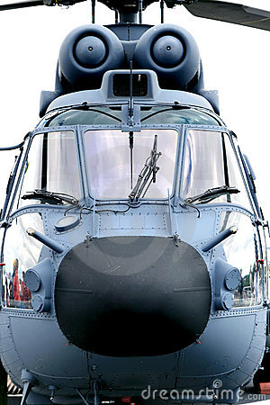 Dutch navy helicopter (frontal)