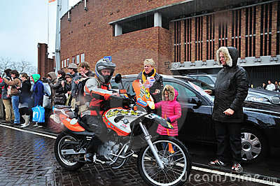 Dutch Orange Trophy. Editorial Image