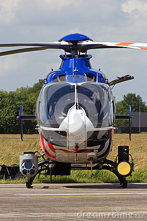 Free Dutch Police Helicopter Stock Photos - 38321443