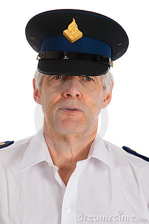 Dutch police man Editorial Photo