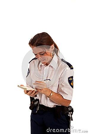 Dutch police officer