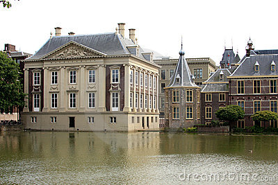 Dutch Royal Picture Gallery Mauritshuis and Tower