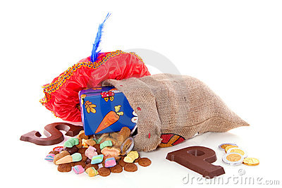 Dutch Sinterklaas candy and gifts