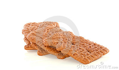 Dutch speculaas-spiced cookies