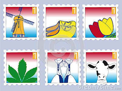 Dutch stamps