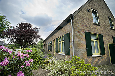 Dutch suburban house